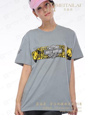 <b>灰色印字T恤定制</b>
